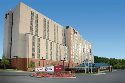 活躍飯店bwi 巴爾的摩華盛頓國際機場閣樓套房飯店 - 漢諾瓦 - 建築