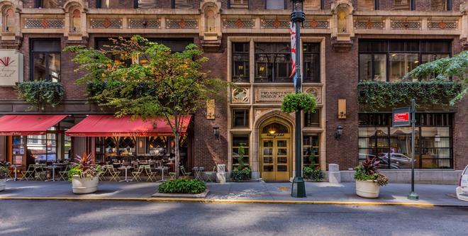 圖書館飯店 - 紐約 - 建築