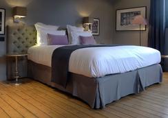 德雷亞酒店-餐廳和Spa中心魅力 - 翁弗勒爾 - 臥室