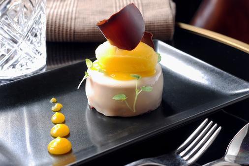 德雷亞酒店-餐廳和Spa中心魅力 - 翁弗勒爾 - 飲食