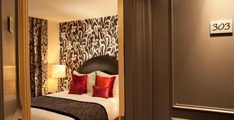 Hotel Le Petit Paris - Paris - Bedroom