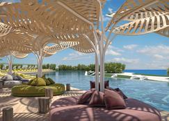 The Ivi Mare - Designed for Adults - Geroskípou - Pool
