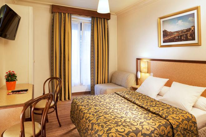 Hotel Les Deux Gares - Paris - Schlafzimmer