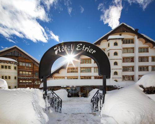 Hôtel De L'etrier - Crans-Montana - Rakennus