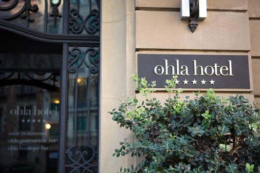 Ohla Barcelona - Barcelona - Outdoor view
