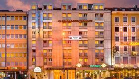 Novum Hotel München Am Hauptbahnhof - Munique - Vista externa