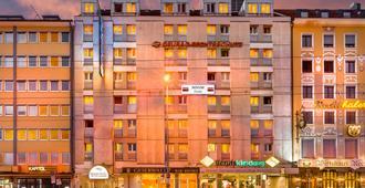 هوتل ميونيخ أم هاوبتبانهوف - ميونخ - المظهر الخارجي
