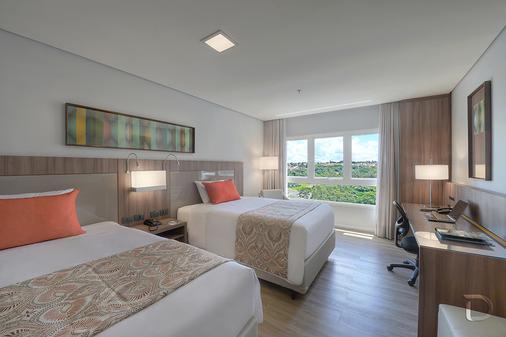 Hotel Deville Prime Campo Grande - Campo Grande - Κρεβατοκάμαρα