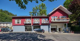 Hotel-Haller - Monschau - Gebouw