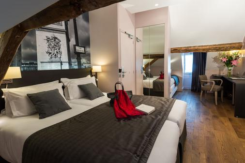 Midnight Hôtel Paris - Paris - Phòng ngủ