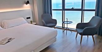 Hotel Príncipe de Asturias - Gijón - Bedroom