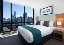 Melbourne Short Stay Apartments MP Deluxe - Melbourne - Makuuhuone