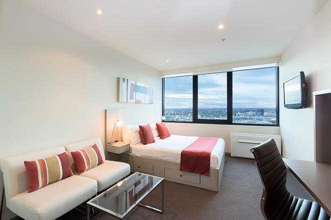 City Tempo - Queen St - Melbourne - Bedroom