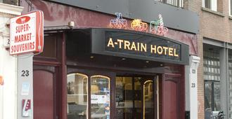A Train Hotel - Amsterdam - Bâtiment