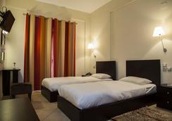Ξενοδοχείο Μετεωρίτης - Καλαμπάκα - Κρεβατοκάμαρα