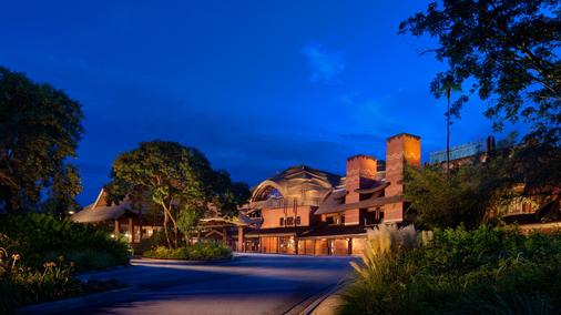 Disney's Animal Kingdom Lodge - Lake Buena Vista - Κτίριο