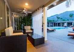 Little Paradise Hotel - Palm Springs - Innenhof