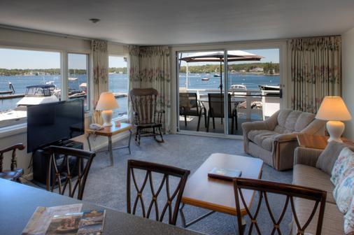 Browns Wharf Inn - Boothbay Harbor - Living room