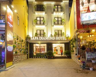 Sapa Diamond Hotel - Lào Cai - Vstup do hotelu
