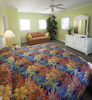 Island Inn of Atlantic Beach - Atlantic Beach - Schlafzimmer