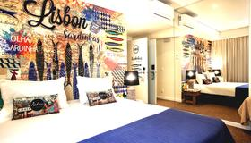 The Art Inn Lisbon - Lisbona - Camera da letto