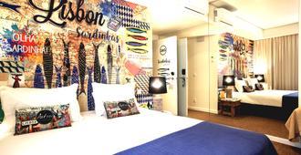 The Art Inn Lisbon - ליסבון - חדר שינה
