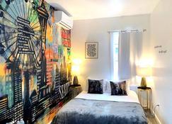 The Art Inn Seattle - Сіетл - Спальня