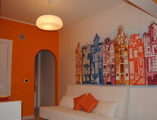 Metropolis Rooms & Services - Fiumicino - Olohuone