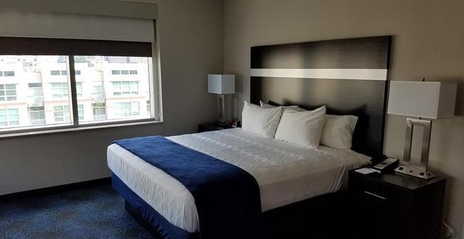 派克維酒店 - 聖路易 - 聖路易斯 - 臥室