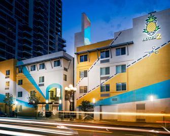 Staypineapple, Hotel Z, Gaslamp San Diego - San Diego - Building