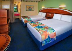 Disney's All-Star Sports Resort - Lake Buena Vista - Bedroom