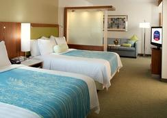 SpringHill Suites by Marriott Houston Intercontinental Airport - Houston - Bedroom