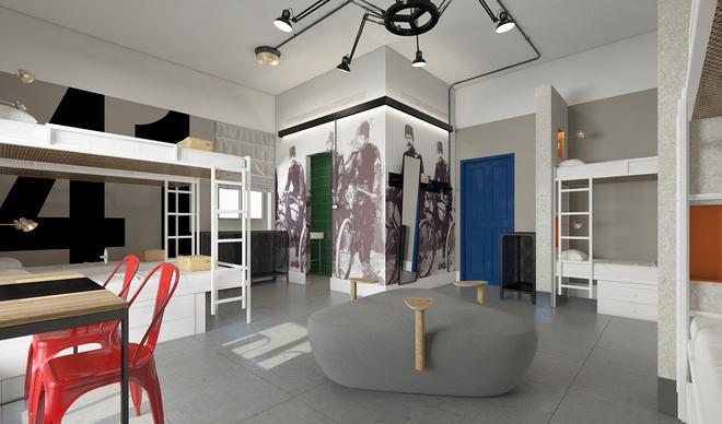The Post Hostel - Jerusalem - Lobby
