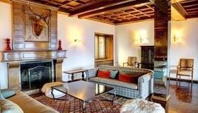 Hotel Tres Reyes - Bariloche - Wohnzimmer