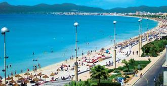 Hotel Palma Mazas - S'Arenal - Bãi biển