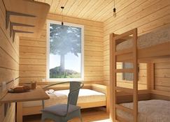 Friday Wood Hostel - Koblevo - Huiskamer