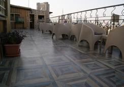 Town View Hotel - Kairo - Dachterrasse