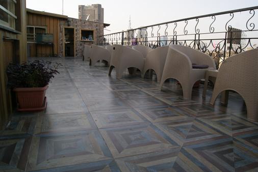 Town View Hotel - Kairo - Kattoterassi