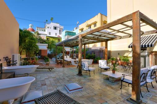 Villa Herencia Hotel - San Juan - Pátio