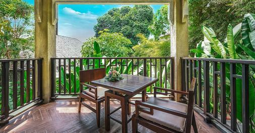 諾拉布里水療度假村 - 蘇梅島 - 陽台