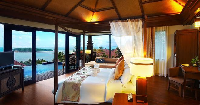諾拉布里水療度假村 - 蘇梅島 - 臥室