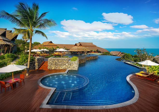諾拉布里水療度假村 - 蘇梅島 - 游泳池