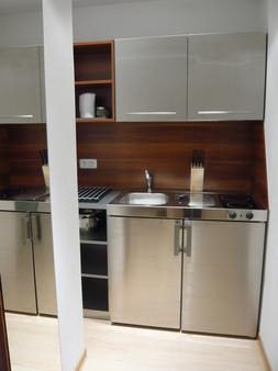 Boutique-Hotel & Apartments Am Essigmanngut - Anif - Kitchen