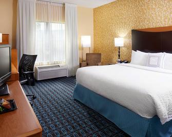 Fairfield Inn and Suites by Marriott Cumberland - Cumberland - Slaapkamer