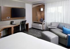Courtyard by Marriott Houston Intercontinental Airport - Houston - Phòng ngủ