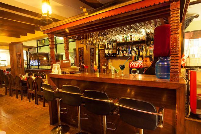 加德滿都生態酒店 - 加德滿都 - 加德滿都 - 酒吧