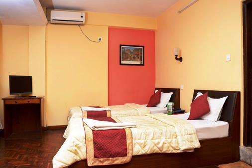 加德滿都生態酒店 - 加德滿都 - 加德滿都 - 臥室