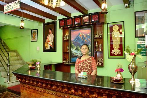 Kathmandu Eco Hotel - Kathmandu - Front desk