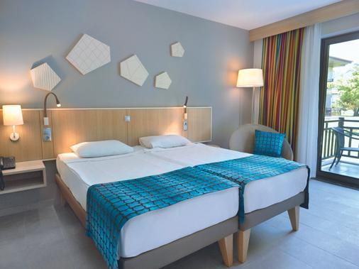 圖伊布魯棕櫚園酒店 - 式 - 馬納加特 - 馬納夫加特 - 臥室
