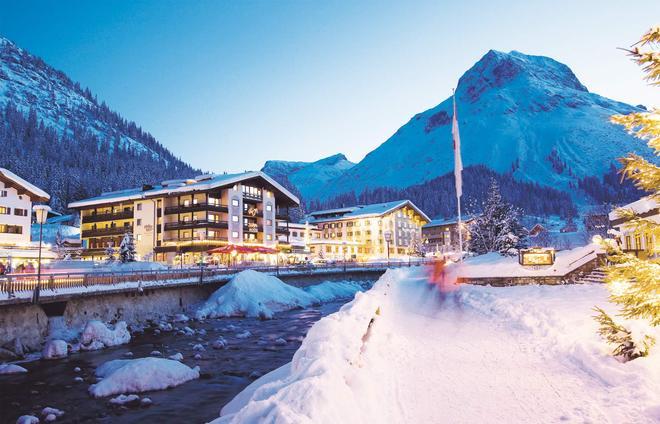 Pfefferkorn's Hotel - Lech am Arlberg - Rakennus